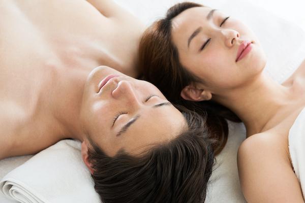 遅漏が改善したセックス終わりのカップル