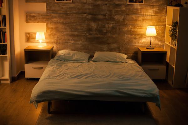 ムードの良い部屋